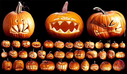pumpkin carving inspiration Extreme Pumpkin Carving Patterns