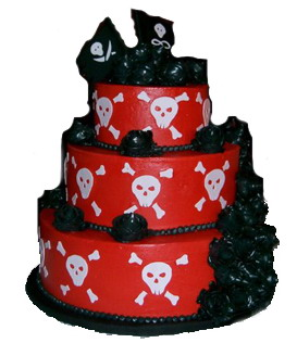 pirate-unique-wedding-cake