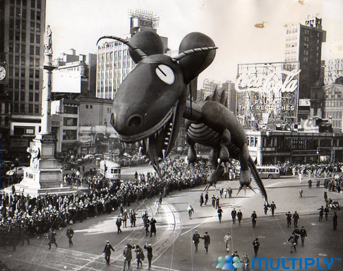 Vintage Thanksgiving Parade Floats