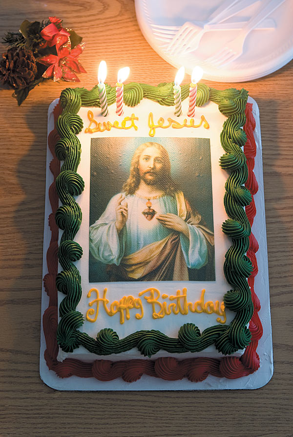 Phenomenal Image Odyssey Christ Cake Shewalkssoftly Personalised Birthday Cards Rectzonderlifede