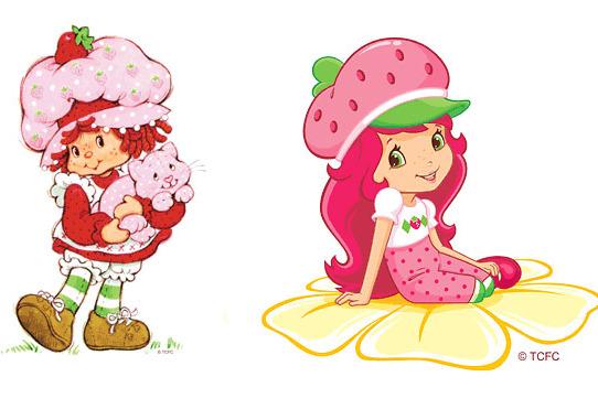 Strawberry Short Cake Cartoons