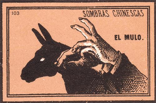 Vintage Shadow Puppet Diagrams | SheWalksSoftly