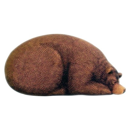 Miraculous Grizzly Bear Bean Bag Chair Shewalkssoftly Machost Co Dining Chair Design Ideas Machostcouk