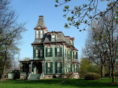 Second empire victorian the haunted archetype for Second empire house plans