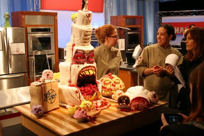 Halloween Countdown: Horror Cake Challenge SheWalksSoftly