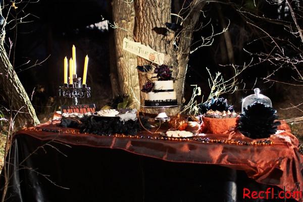 Halloween wedding decorations halloween countdown halloween wedding decor part 1 shewalkssoftly junglespirit Choice Image