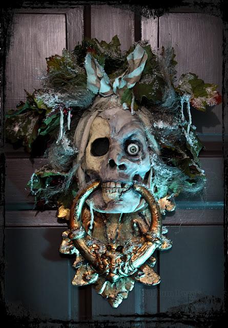 William Bezek Ghost Of Jacob Marley Door Knocker