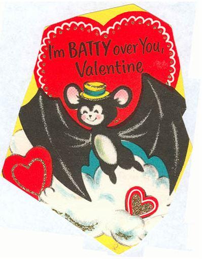 Bat Valentines SheWalksSoftly