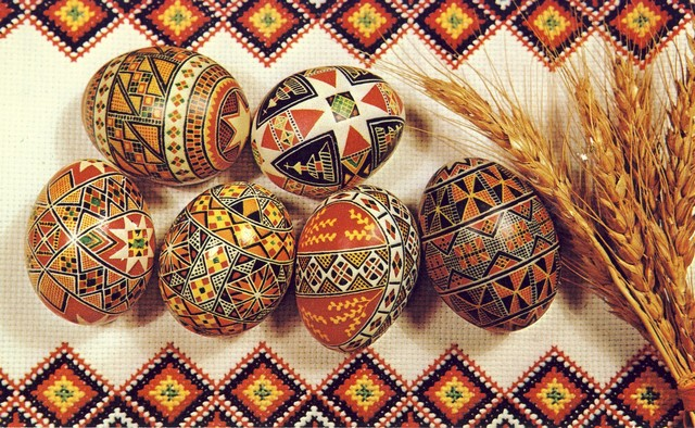 Pysanky Ukrainian Decorated Eggs