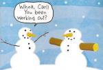 buff-snowman