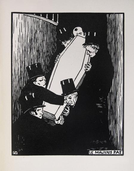 Felix Vallotton - Le Mauvais Pas - 1893 by Thomas Shahan 3