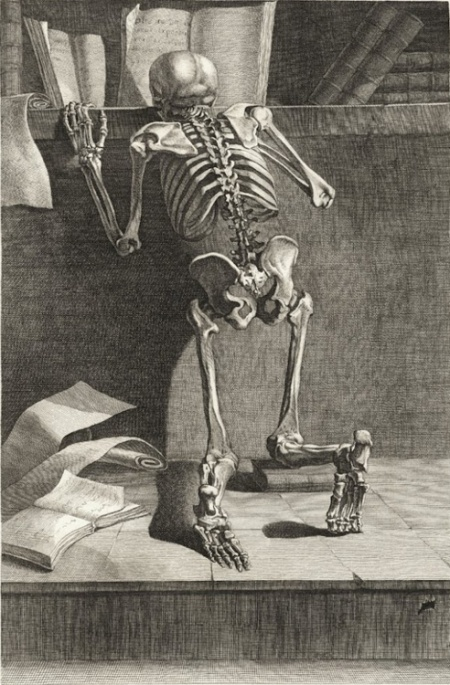 skeleton reading, 1779