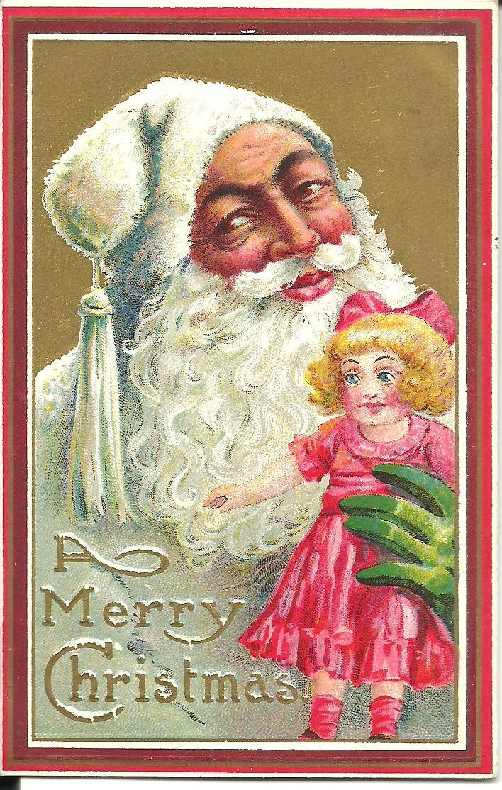 Vintage christmas cards 001 | SheWalksSoftly