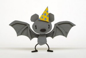 birthday bat medium