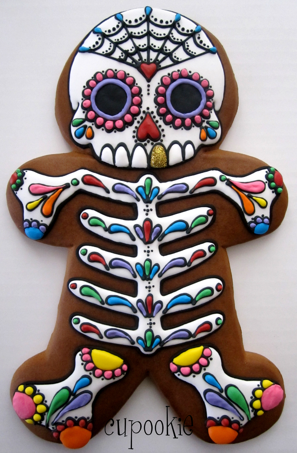 Cupookies Amazing Day Of The Dead Cookie SheWalksSoftly