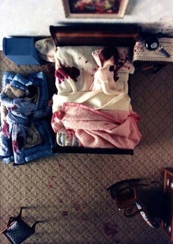 Nutshell Bedroom Scene