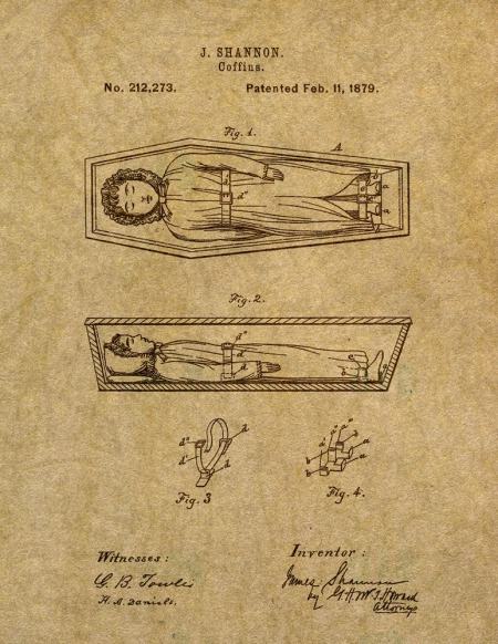 1879 Coffin Patent
