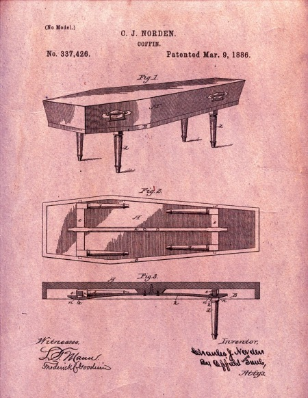 1886 Coffin Patent