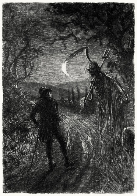 William Brassey Hole, from The poetry of Robert Burns vol I, Edinburgh, 1896