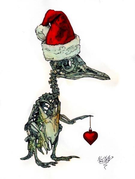 christmas_cheer_penguin_by_eddietheyeti-d5mi3gk