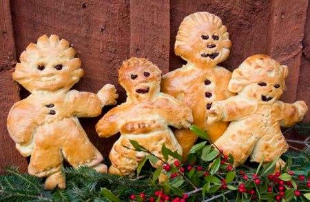 The santa bread gang