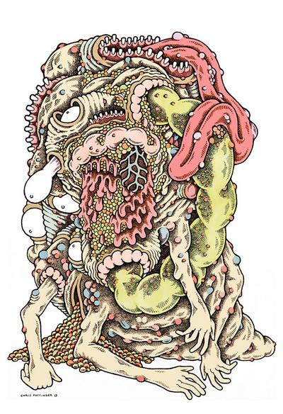 Licked Mucous Tube - Chris Pottinger www.TASTYSOIL.com