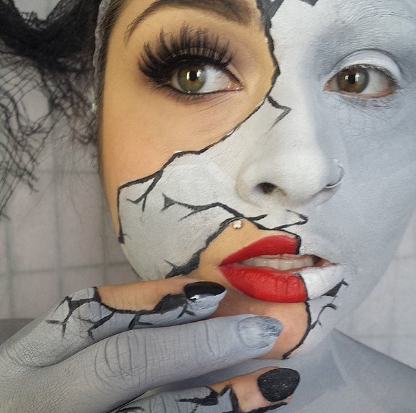 Who Needs A Face Anyway: Halloween Countdown: Extraordinary Face Painting