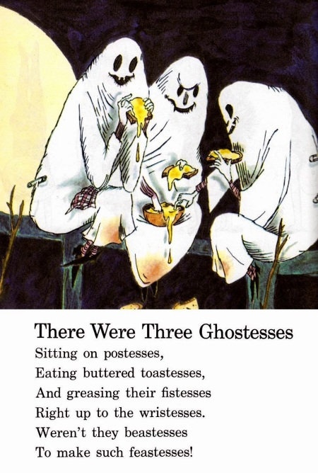 3 ghostesses