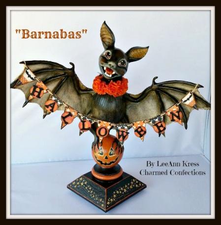 front of bat