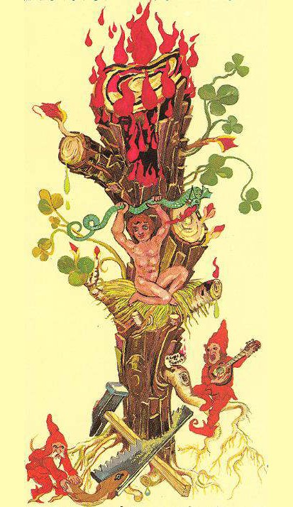 22-Ace-of-Wands-The-Medieval-Scapini-Tarot